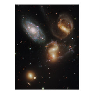Stephan's Quintet 18x24 (20x23) Posters