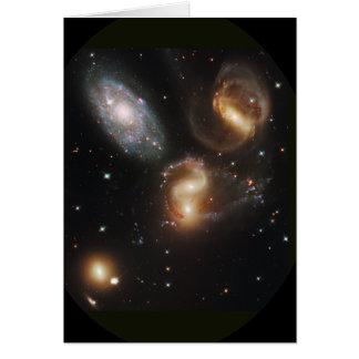 Stephan's Quintet Card