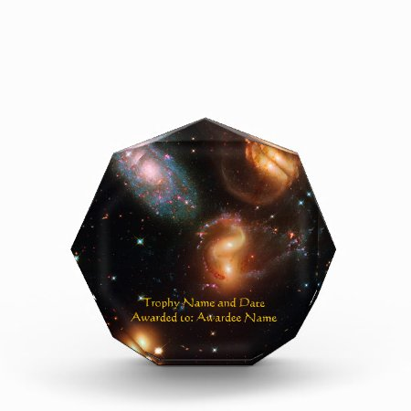 Stephans Quintet deep space star galaxy cluster Award
