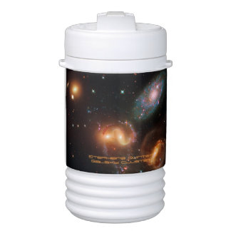 Stephans Quintet deep space star galaxy cluster Igloo Beverage Cooler