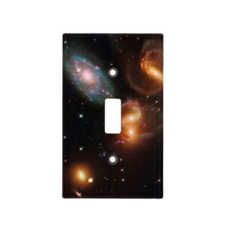 Stephans Quintet deep space star galaxy cluster Light Switch Covers