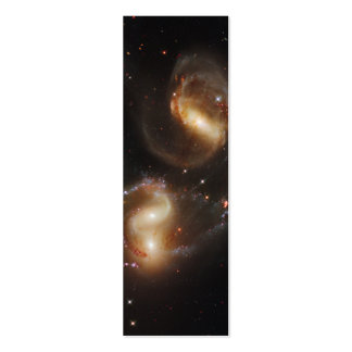 Stephan's Quintet Galaxies (Hubble Telescope) Double-Sided Mini Business Cards (Pack Of 20)