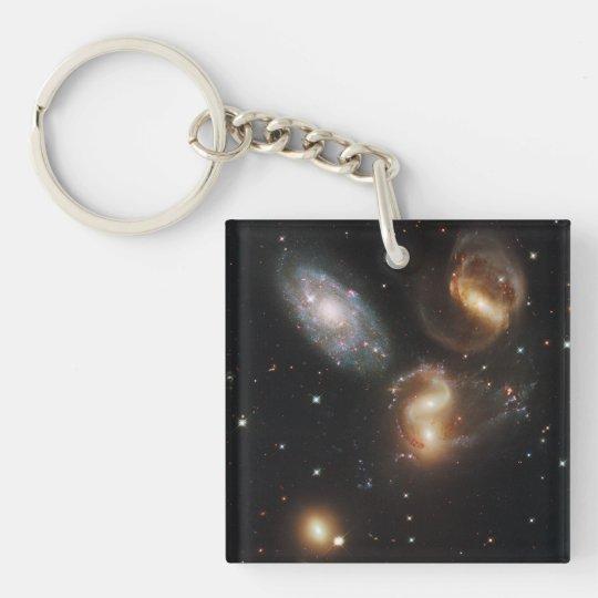Stephan's Quintet Galaxies (Hubble Telescope) Keychain