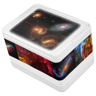 Stephans Quintet Galaxy Cluster and friends Igloo Drink Cooler