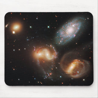 Stephan's Quintet Galaxy Cluster Mouse Pad