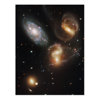 Stephan's Quintet Hickson Compact Group 92 Postcard