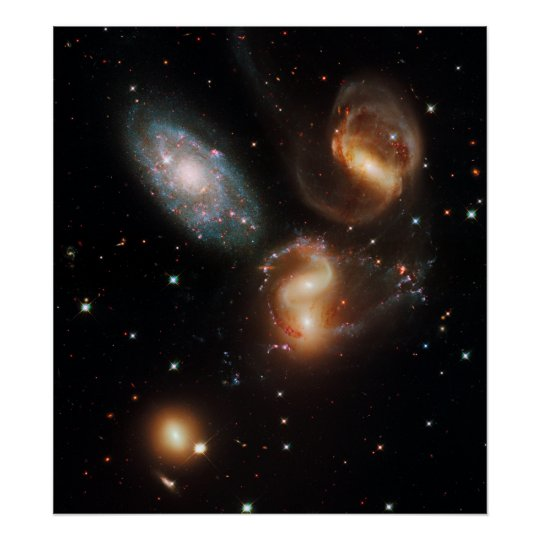 Stephan's Quintet Print
