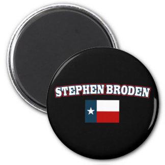Stephen Broden para Tejas Imán Redondo 5 Cm