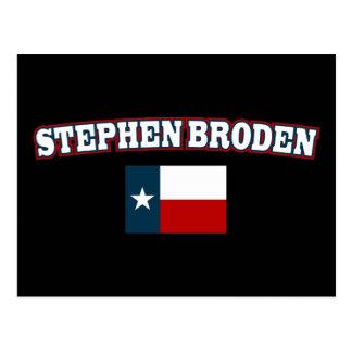 Stephen Broden para Tejas Postales