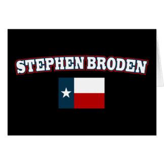 Stephen Broden para Tejas Tarjeta De Felicitación