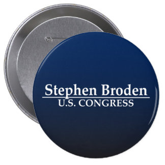 Stephen Broden U.S. Congress Button