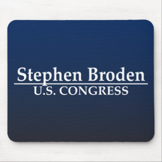 Stephen Broden U.S. Congress Mouse Pad