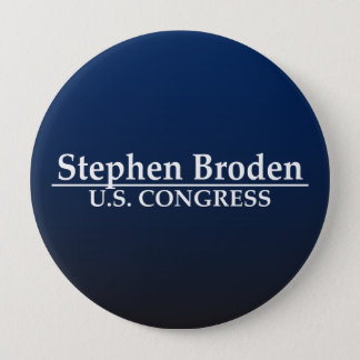 Stephen Broden U.S. Congress Pinback Button