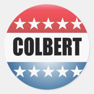 STEPHEN COLBERT CLASSIC ROUND STICKER