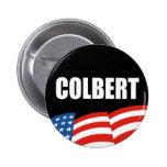 STEPHEN COLBERT Election Gear Pinback Button