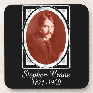 Stephen Crane Beverage Coasters