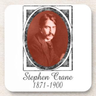 Stephen Crane Drink Coasters