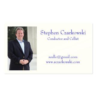 Stephen Czarkowski Business Cards