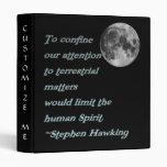 Stephen Hawking Quote*  Binder