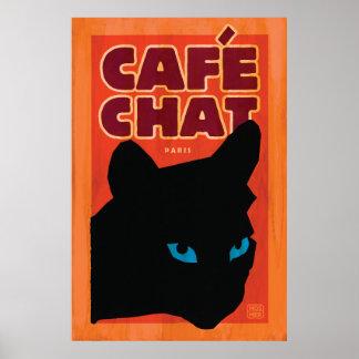 Stephen Hosmer's Cafe Chat Poster