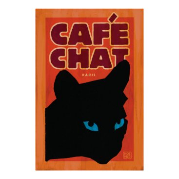 Beach Themed Stephen Hosmer's Cafe Chat Poster