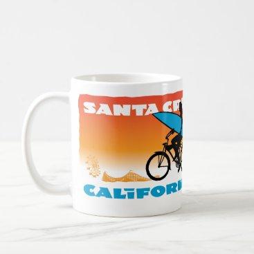 Coffee Themed Stephen Hosmer's Surfer Girl Orange Coffee Mug