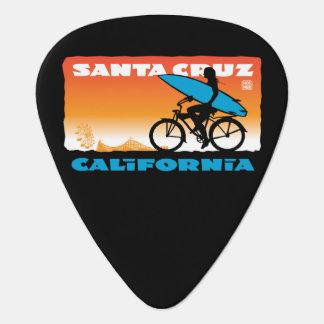 Stephen Hosmer's Surfer Girl Orange Guitar Pick