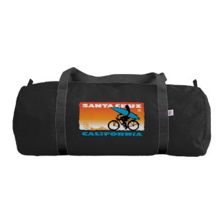 Stephen Hosmer's Surfer Girl Orange Gym Bag
