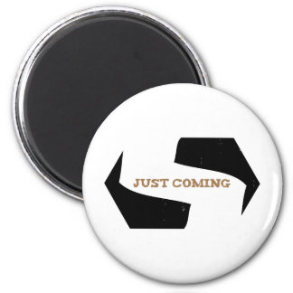 Stephen! Justing Coming Eroded 2 Inch Round Magnet