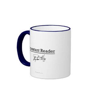 Stephen King, Constant Reader Ringer Coffee Mug