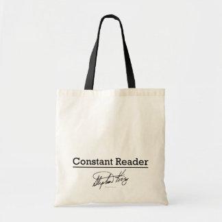 Stephen King, Constant Reader Tote Bag