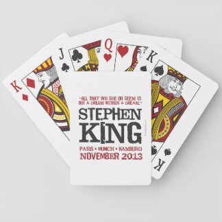 Stephen King's Euro Tour Deck Of Cards