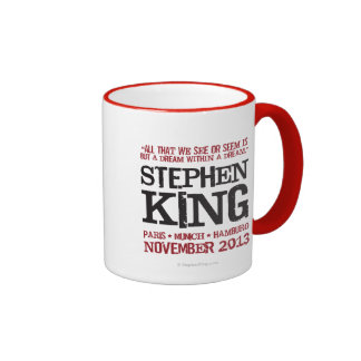 Stephen King's Euro Tour Ringer Coffee Mug