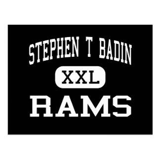 Stephen T Badin - espolones - alto - Hamilton Ohio Postal
