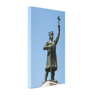 Stephen the Great Monument Canvas Print