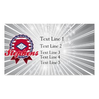 Stephens AR Business Card Templates