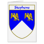 Stephens Coat of Arms/Family Crest Cards