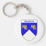 Stephens Coat of Arms/Family Crest Key Chains