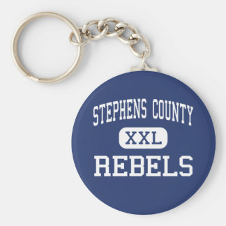 Stephens County Rebels Middle Eastanollee Keychain