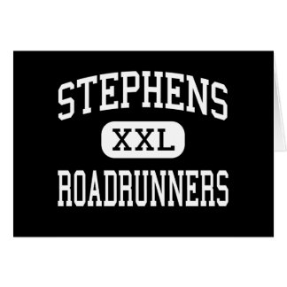 Stephens - Roadrunners - High - Stephens Arkansas Greeting Card