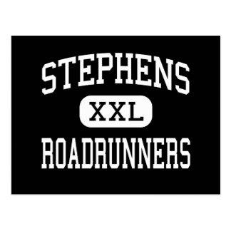Stephens - Roadrunners - High - Stephens Arkansas Postcard