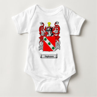 Stephenson Family Coat of Arms Baby Bodysuit