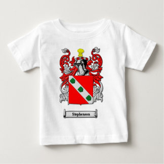 Stephenson Family Coat of Arms Baby T-Shirt