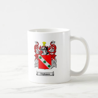 Stephenson Family Coat of Arms Coffee Mug