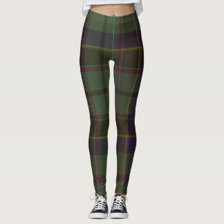 Stephenson Tartan Clan Plaid Leggings