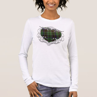 Stephenson Tartan Heart Long Sleeve T-Shirt