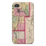Stephenson, Winnebago, condados de Boone iPhone 4 Carcasas