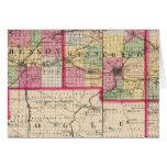 Stephenson, Winnebago, condados de Boone Tarjeta De Felicitación