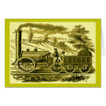 Stephenson's Rocket Greeting Cards