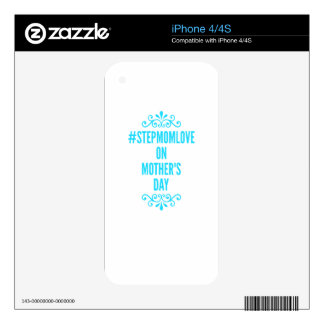 #stepmomlove mothers day iPhone 4 skin